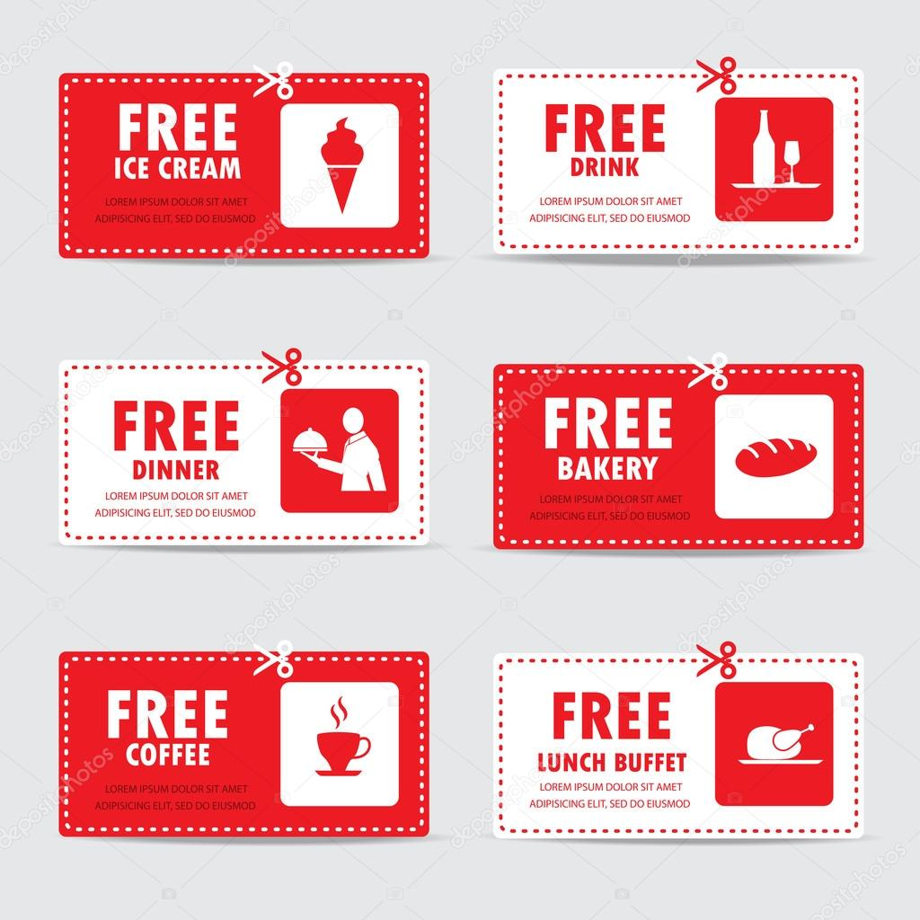 Gift vouchers and certificates wongwichainae gift vouchers and certificates coupon food menu and business card tags element template can be use for business shopping card customer sale and negle Images