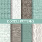 Fotografie vintage seamless patterns, endless texture background. vector