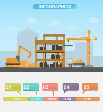 harbour infographics, vector