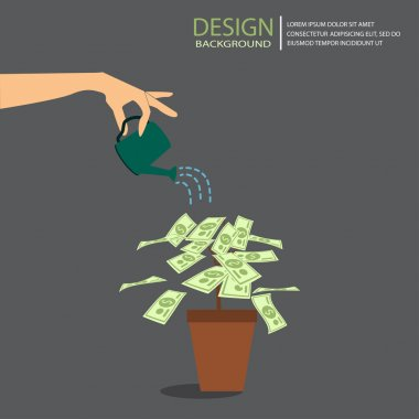 business finance, vector design element