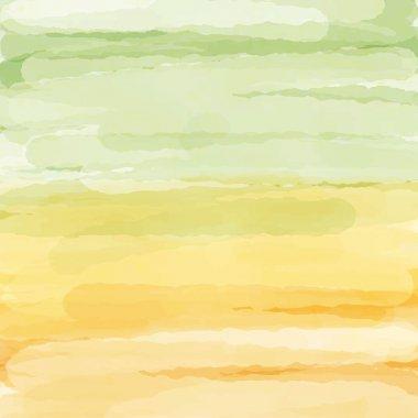 Light green orange yellow love pastel background in autumn
