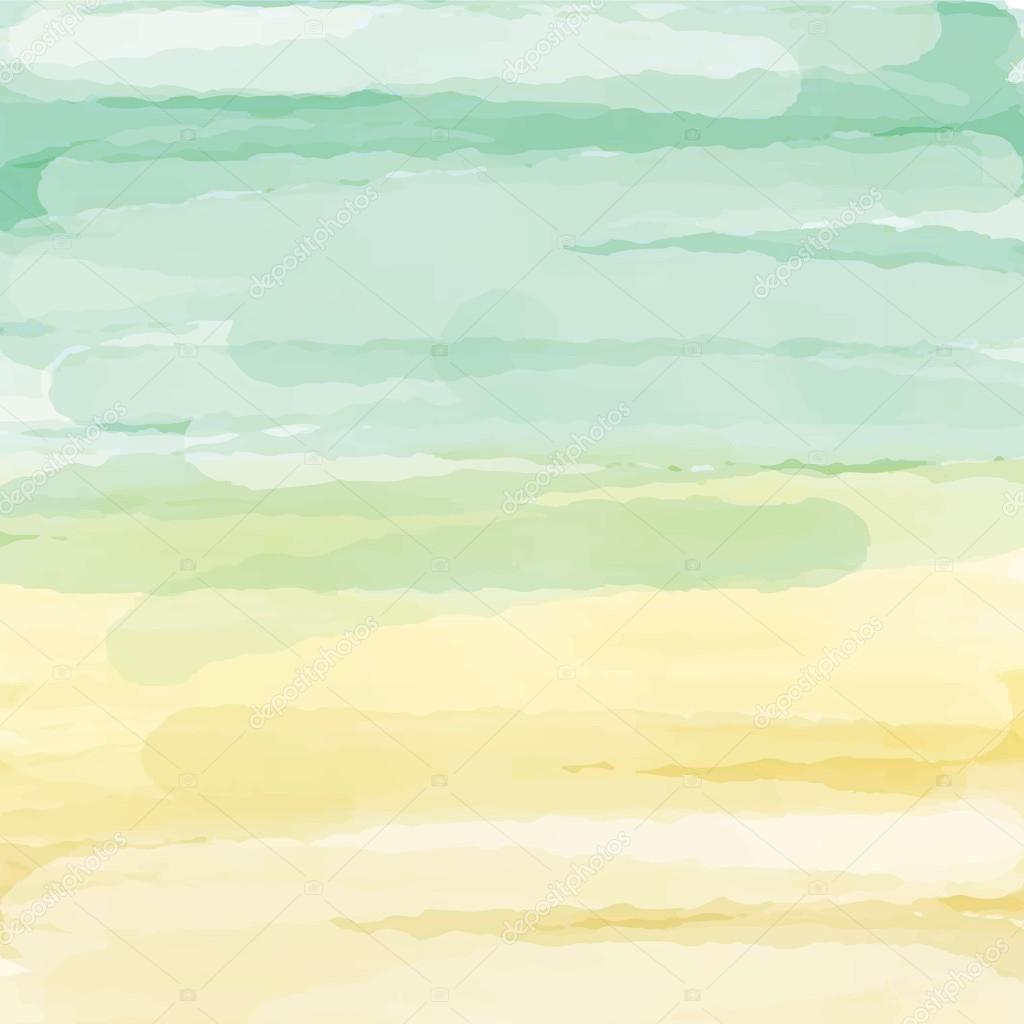 Light green orange yellow love pastel background in autumn Light pastel green paint