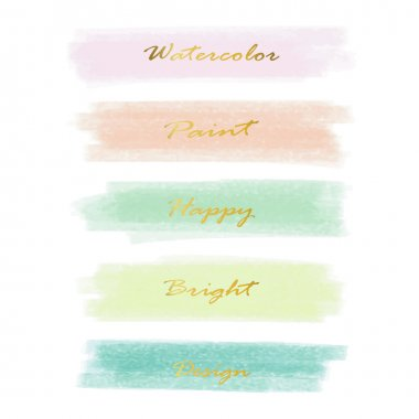 Light pink blue green love pastel banner in valentine's day with