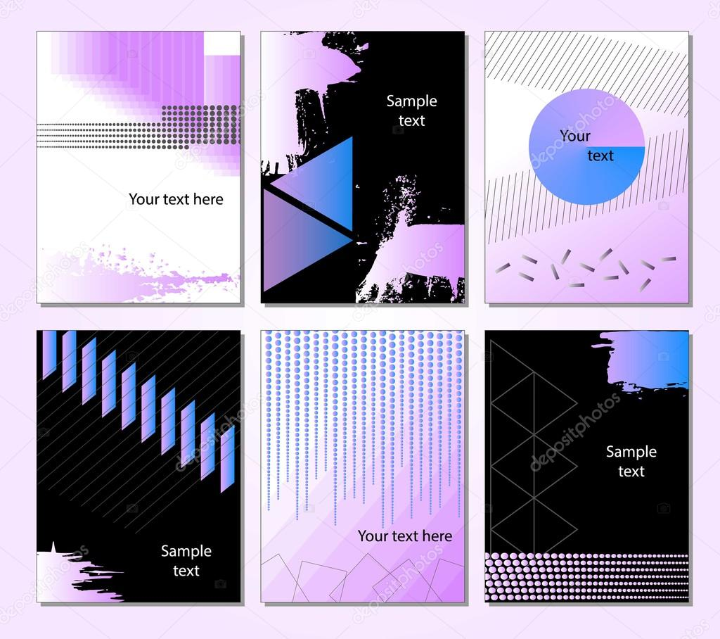 Abstract Background. Geometric shapes and frames for presentation ...