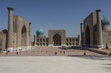 The Registan square in Samarkand, Uzbekistan