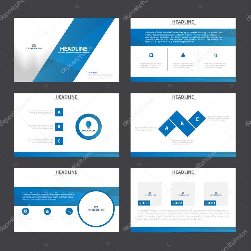 Vorlagen Infographik Darstellungselemente flaches Design für ...