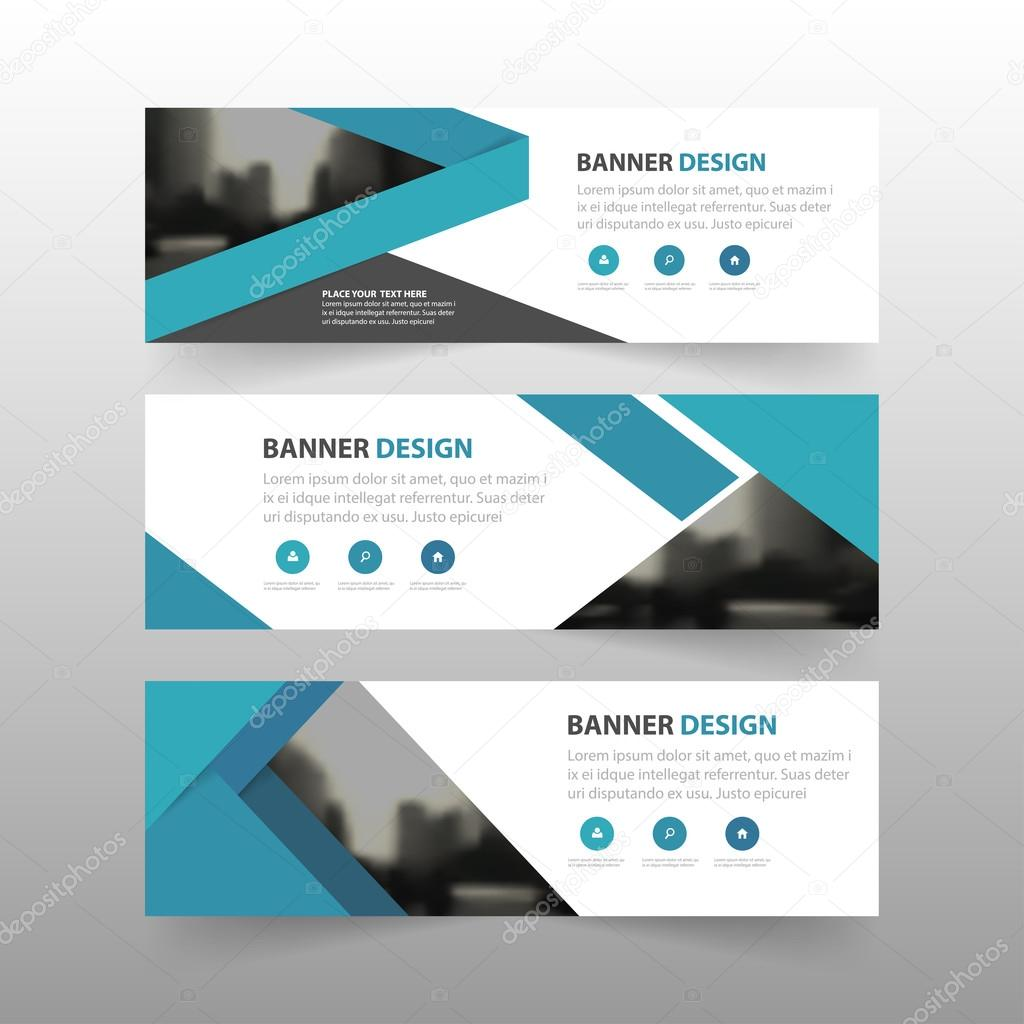 Blue label banner abstract triangle corporate business banner blue label banner abstract triangle corporate business banner template horizontal advertising business banner layout template accmission Images