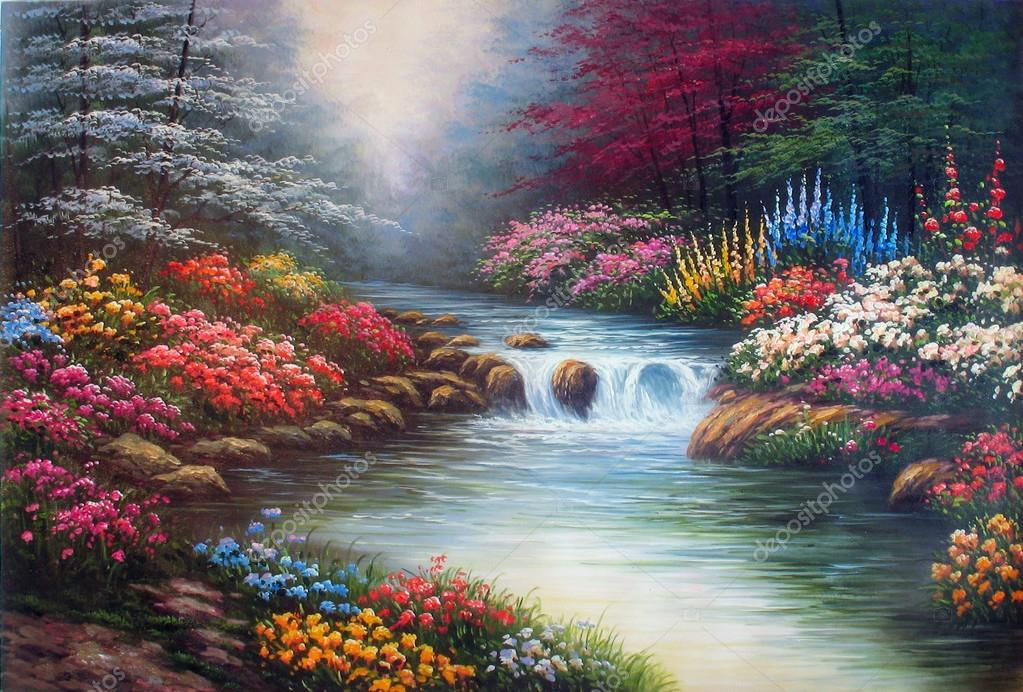 Original oil painting Waters