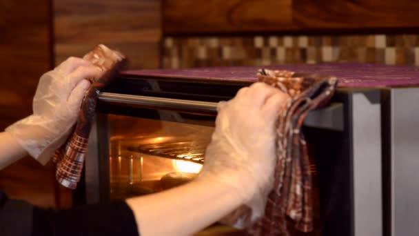 Při pečená bageta z trouby