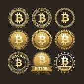 Fotografie Geld-Abzeichen und Embleme