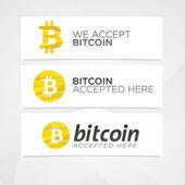 Fotografie Bitcoin digitale Währung kreative Banner