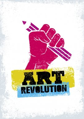 Art Revolution Creative Poster