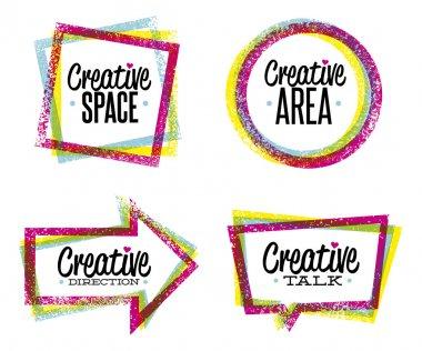 Creative space, art, direction, talk
