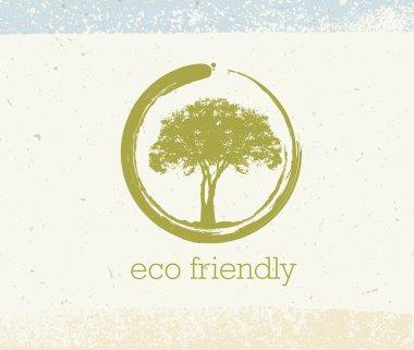 Eco Friendly Tree Concept