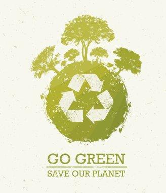 Go Green Eco Concept