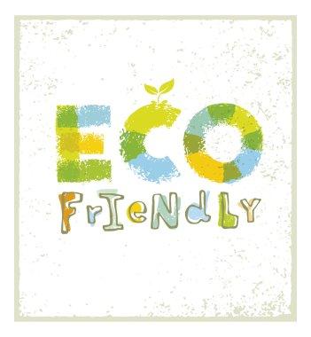Eco Friendly Creative Background