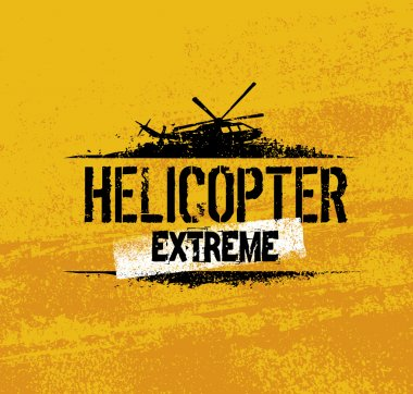 Helicopter Extreme Ride Creative Banner