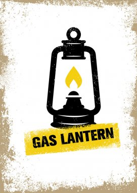 Kerosene Gas Lantern Camping Equipment