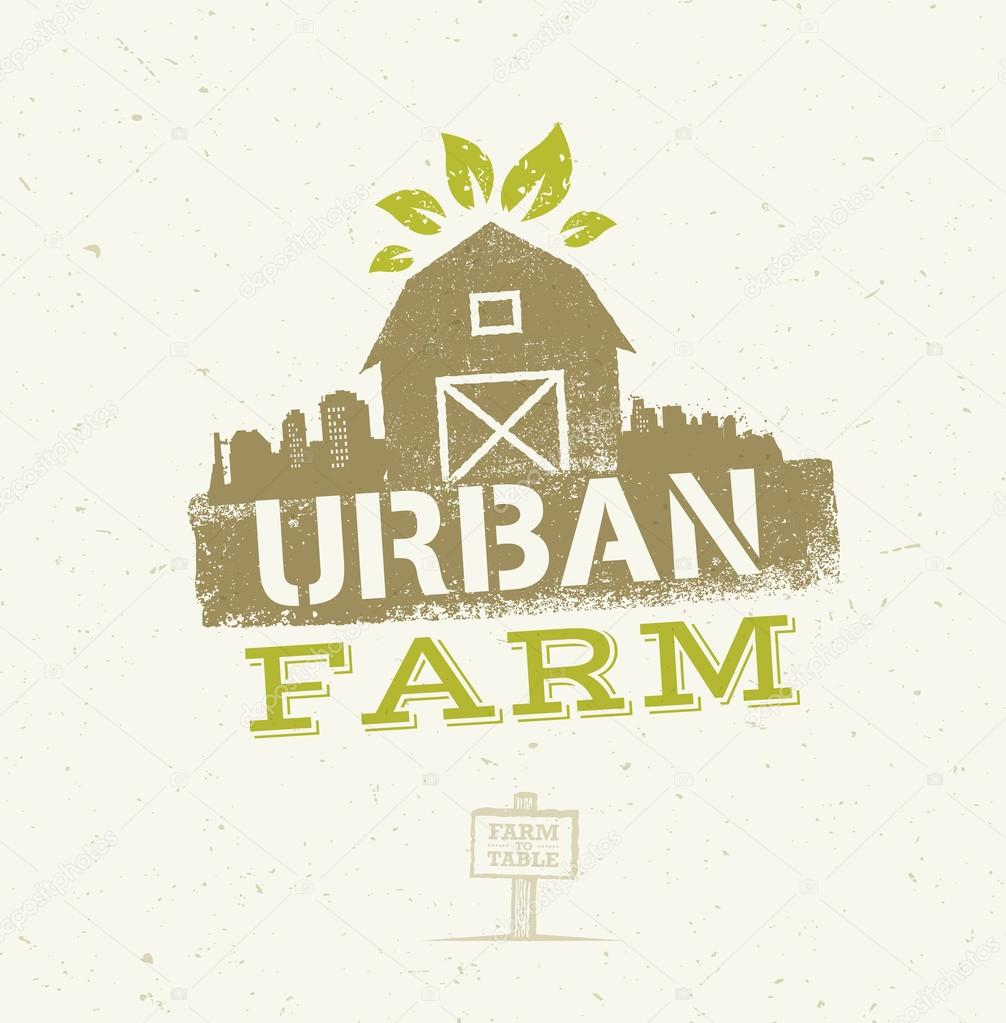 Urban City Farm Eco Concept