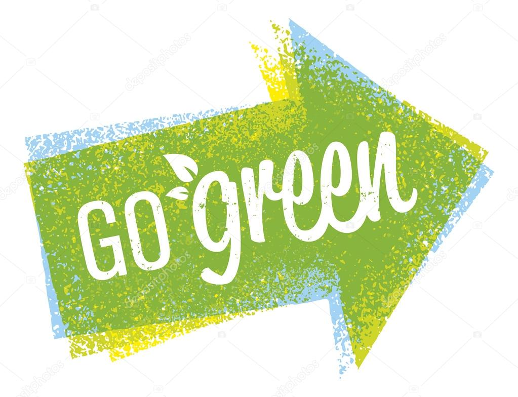 Go Green Eco Concept