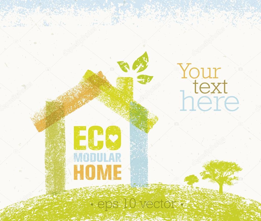 Eco Modular Home Concept