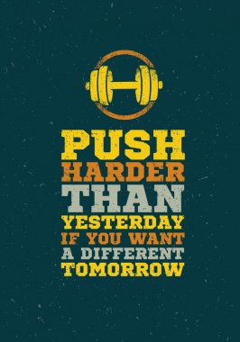 Fitness Gym Motivation Quote