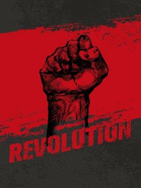 Revolution Fist Grunge