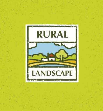 Rural Landscape Background