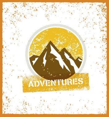 Outdoor Adventure Mountain Sunrise