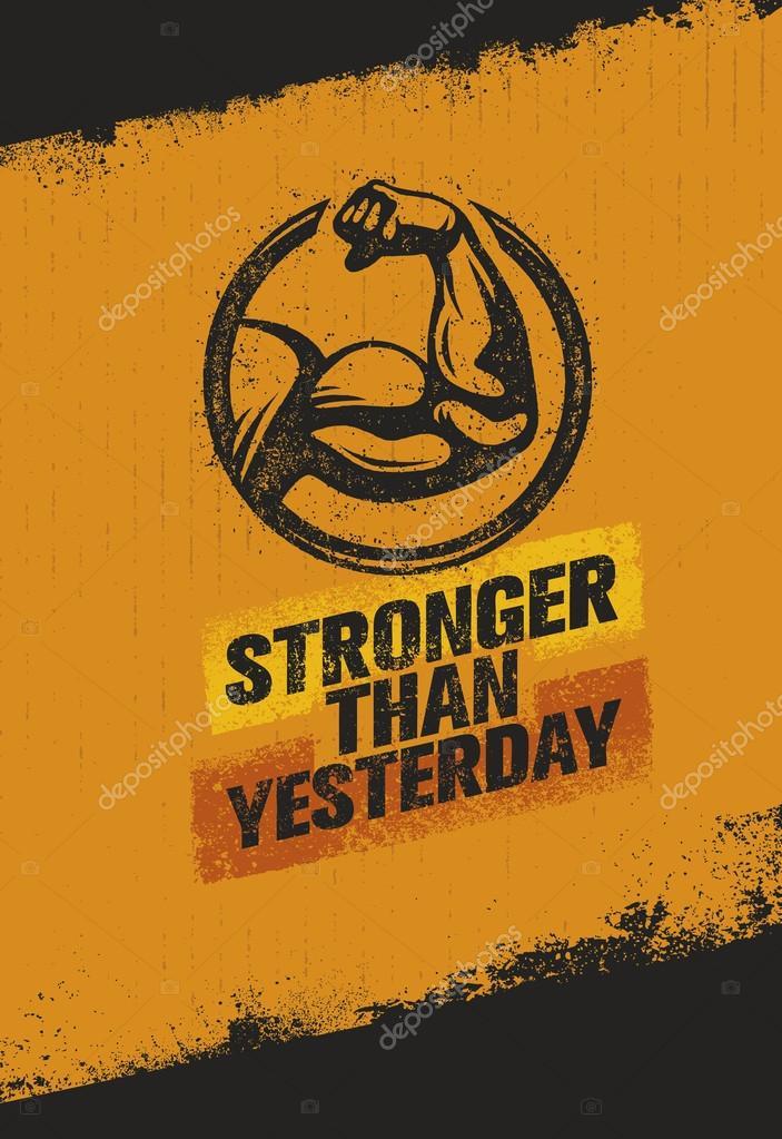 Fond D Écran Motivation citation de motivation pour le sport fitness — image vectorielle wow