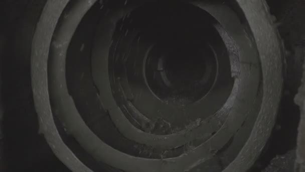 ore mixed with water spinning inside a ball mill in copper processing industry