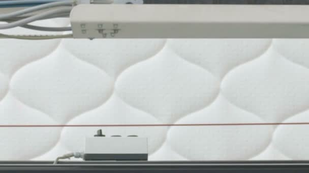 Mattresses manufacturing , mattresses Plant, Sewing of mattresses on the sewing machine