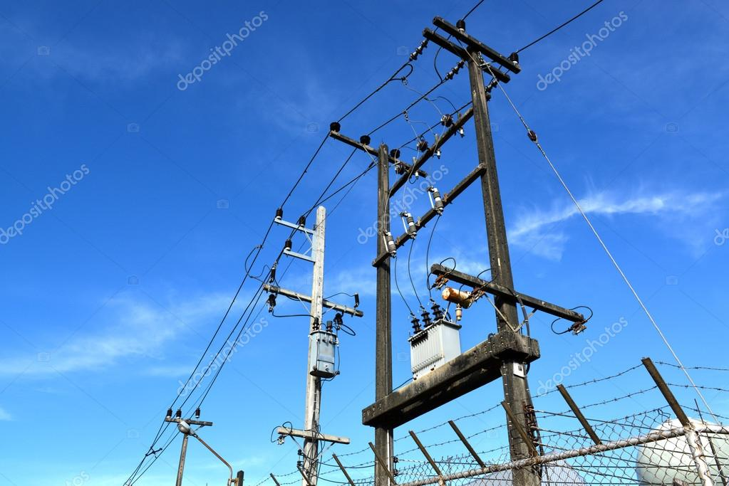 electricity post line stock photo lewzsan gmail com 93738672