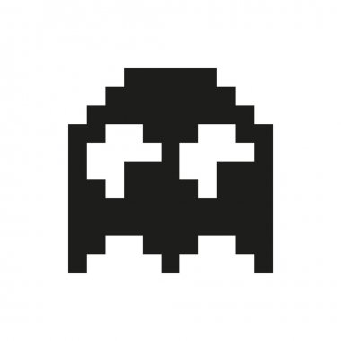 Ghosts monster racing. Arcade Retro game icon