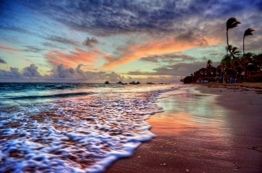 Fabulously peaceful sandy beach