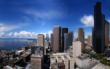 Seattle Downtown from Smith Tower
