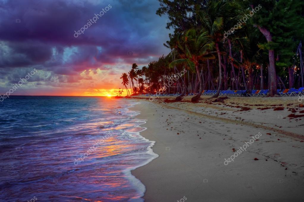 ocean beach sunrise