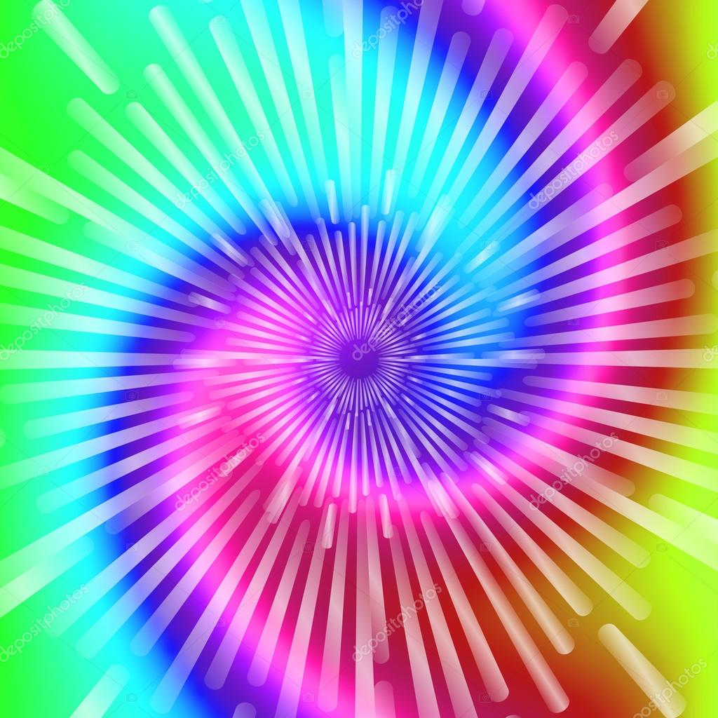 Tie dye colors beautiful realistic spiral tie dye vector illustration stock vector - Tie and dye colore ...