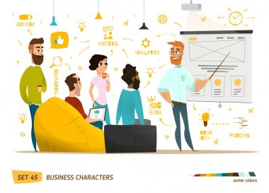 Business characters collection