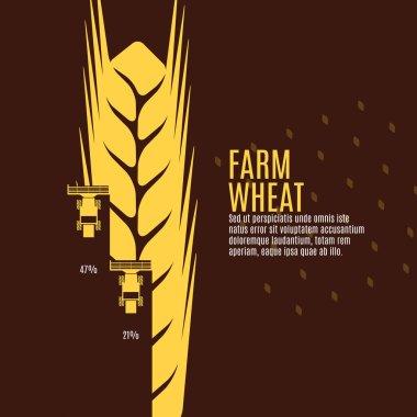 Farm wheat  sign