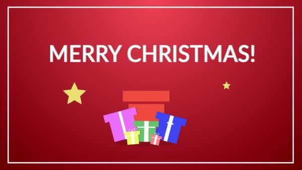 Vánoční přání plochá