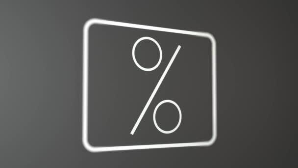 Percent symbol Black and White