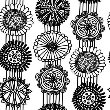 Seamless scandinavian pattern
