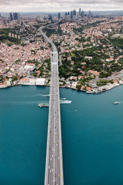 Istanbul and Bosphorus Bridge
