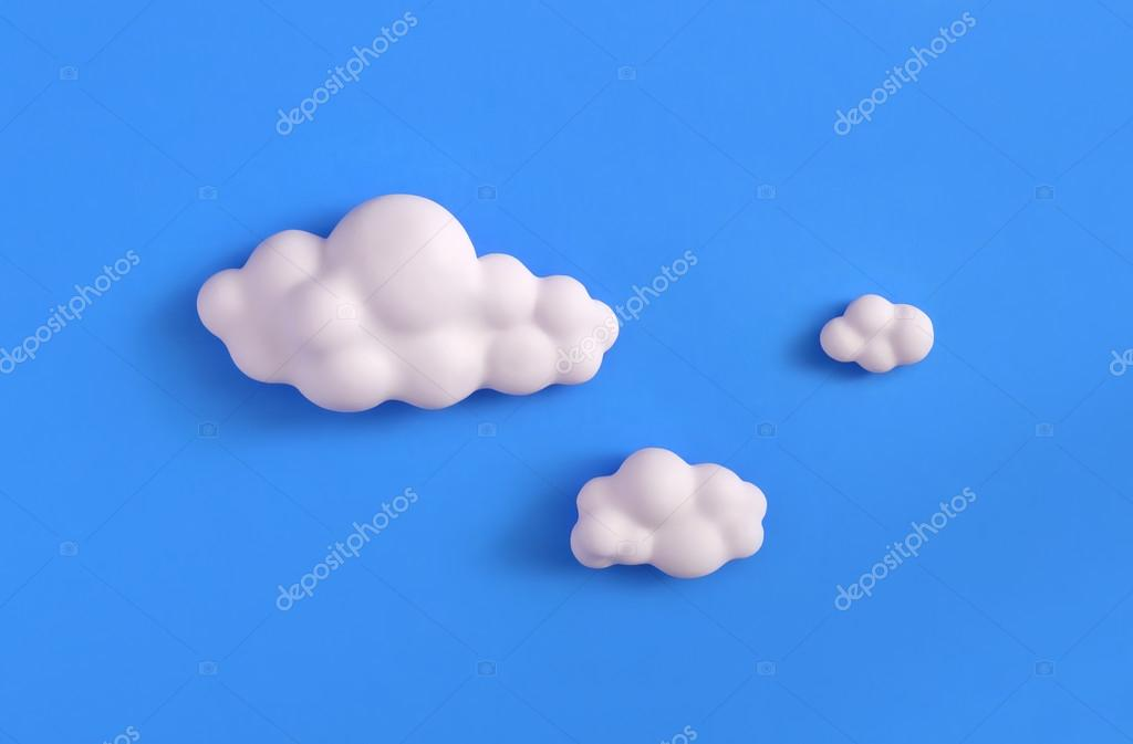 how to make fondant clouds