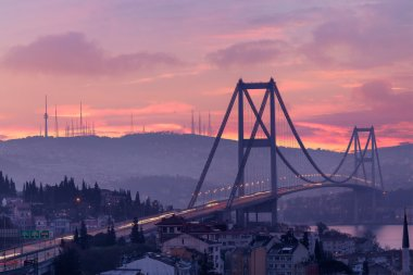 Bosphorus Bridge at dawn