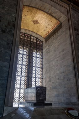 Big window and Tomb of Ataturk