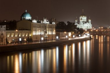 Moskva river in Moscow