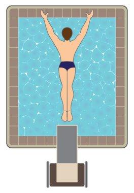 High Platform Diver