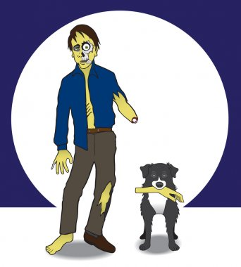 Zombie and Dog